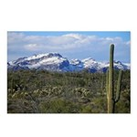 Snow in the Superstition Wilderness Postcards (Pac