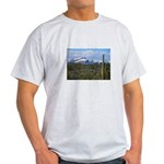 Snow in the Superstition Wilderness Light T-Shirt
