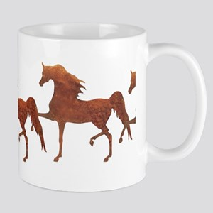 Arab Prancing - bronze Mug