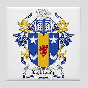 Lightbody Coat of Arms Tile Coaster