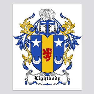 Lightbody Coat of Arms Small Poster