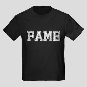 FAME, Vintage Kids Dark T-Shirt