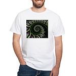 Confetti Spiral White T-Shirt