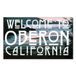 Welcome To Oberon Sticker (Rectangle 50 pk)
