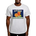 Mazoe colour Ash Grey T-Shirt