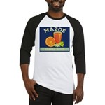 Mazoe colour Baseball Jersey