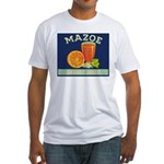 Mazoe colour Fitted T-Shirt