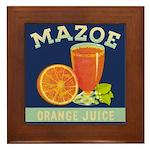 Mazoe colour Framed Tile