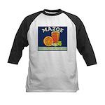 Mazoe colour Kids Baseball Jersey