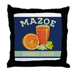 Mazoe colour Throw Pillow
