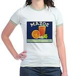 Mazoe colour Jr. Ringer T-Shirt