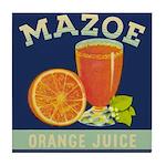 Mazoe colour Tile Coaster
