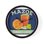 Mazoe colour Wall Clock