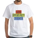 Equal Opportunity White T-Shirt