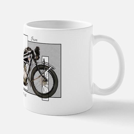 1927-28 Vintage Iron Mug