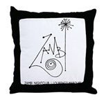 Zambi, L.M. Throw Pillow