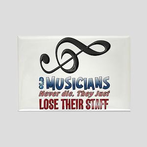 Musician Rectangle Magnet