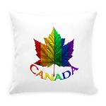 Gay Pride Canada Souvenir Everyday Pillow