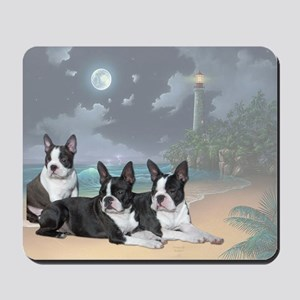 Boston Terriers Mousepad
