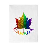 Gay Pride Canada Souvenir Twin Duvet Cover