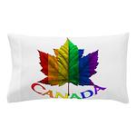 Gay Pride Canada Souvenir Pillow Case