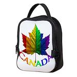 Gay Pride Canada Souvenir Neoprene Lunch Bag