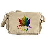 Gay Pride Canada Souvenir Messenger Bag