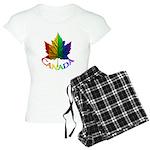 Gay Pride Canada Souvenir Pajamas