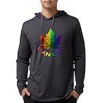 Gay Pride Canada Souvenir Mens Hooded Shirt