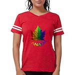 Gay Pride Canada Souvenir Womens Football Shirt