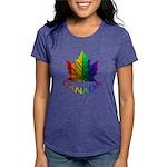 Gay Pride Canada Souvenir Womens Tri-blend T-Shirt