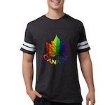Gay Pride Canada Souvenir Mens Football Shirt