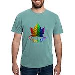 Gay Pride Canada Souvenir Mens Comfort Colors Shir