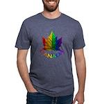 Gay Pride Canada Souvenir Mens Tri-blend T-Shirt
