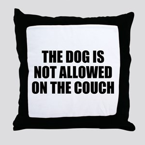 Dog Rules Throw Pillow