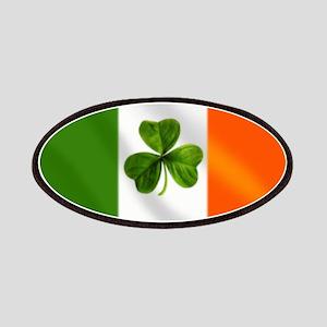 Irish Shamrock Flag Patches