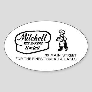 Bakers Oval Sticker