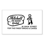 Bakers Rectangle Sticker