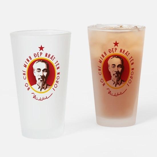 Ho Chi Minh Drinking Glass
