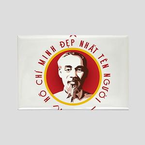 Ho Chi Minh Rectangle Magnet