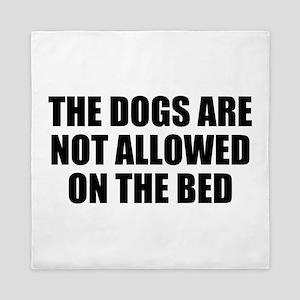 Dog Rules Queen Duvet