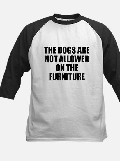 Dog Rules Kids Baseball Jersey