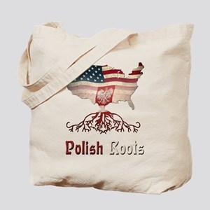 American Polish Roots Tote Bag