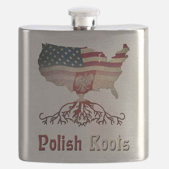 American Polish Roots Flask