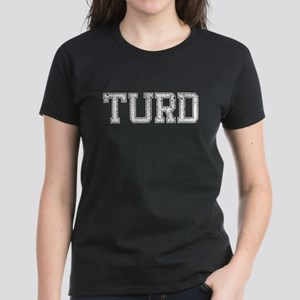 TURD, Vintage Women's Dark T-Shirt