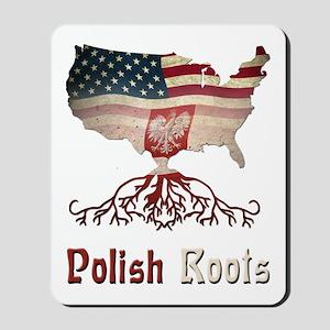 American Polish Roots Mousepad