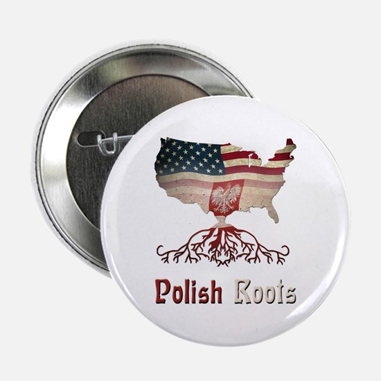 """American Polish Roots 2.25"""" Button"""