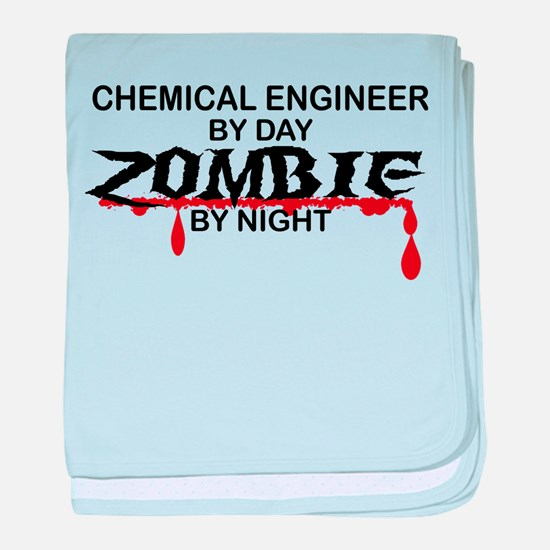 Chemical Eng Zombie baby blanket
