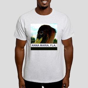 Brown pelican Light T-Shirt