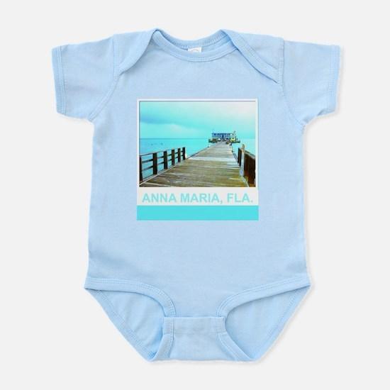Cool Rod & Reel Pier Infant Bodysuit
